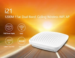 Wireless Access Point ốp trần TENDA i21 (ac1200)